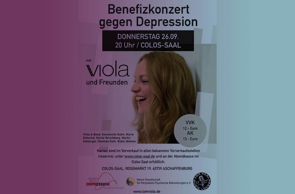 Benefizkonzert gegen Depression Viola Tamm und Freunde Violet Voices