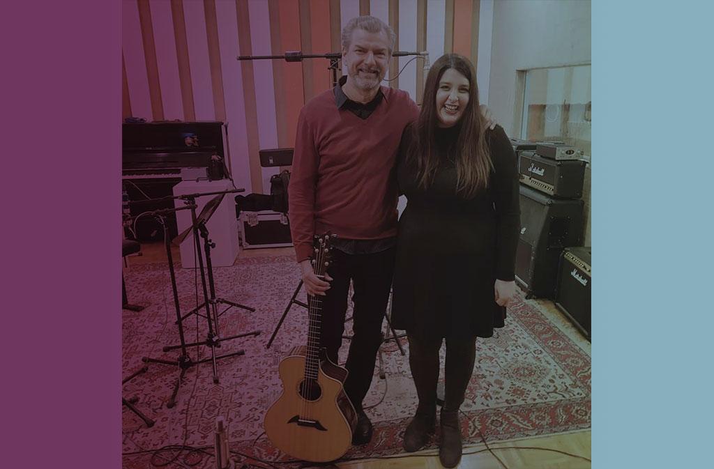 Marina Held Aufnahmen mit KOSHO (Söhne Mannheims) Violet Voices